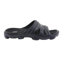 American Club American men's pool shoes slippers navy