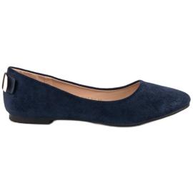 Vinceza Comfortable Ballerina blue
