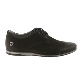 Black Riko low heels sports shoes 877