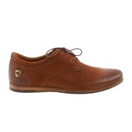 Riko low heels sports shoes 877 brown