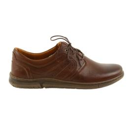 Riko low boots men's shoes brown 870