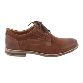 Brown Riko low-cut men's shoes 831