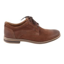 Riko low-cut men's shoes 831 brown