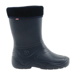 Befado women's navy blue wellies with a 162Q103 sock
