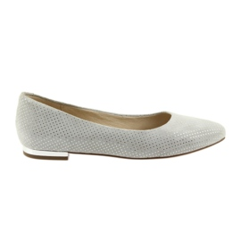 Caprice ballerinas shoes for women 22104 grey