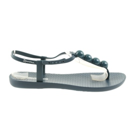 Navy Ipanema sandals flip-flops women's shoes 82517