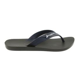 Rider Flip flops men's shoes navy blue