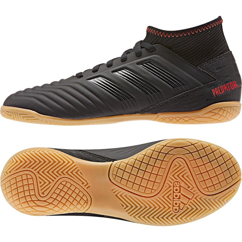 Indoor shoes adidas Predator 19.3 In Jr D98015 black multicolored