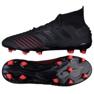 Football boots adidas Predator 19.1 Fg M BC0551 black black