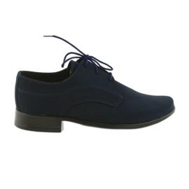 Miko shoes children suede communion shoes navy