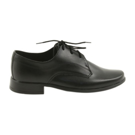 Black Miko shoes children's shoes boys communion