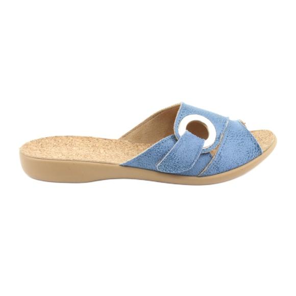 Befado women's shoes pu 265D015 blue