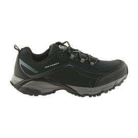 American Club ADI tied sports shoes American waterproof soft WT04 / 19 black
