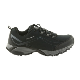 American Club black ADI tied sports shoes American waterproof soft WT04 / 19