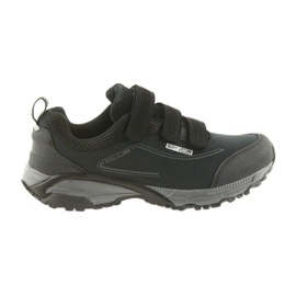 American Club black ADI women's sports shoes with velcro American waterproof softhell WT08 / 19