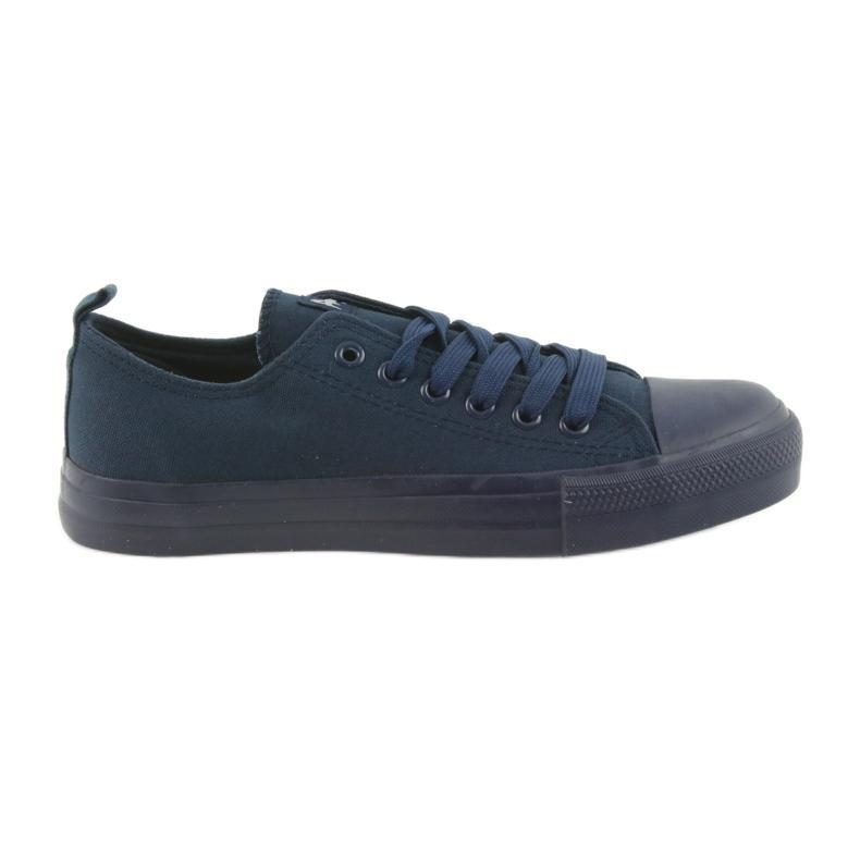 American Club navy blue sneakers LH05