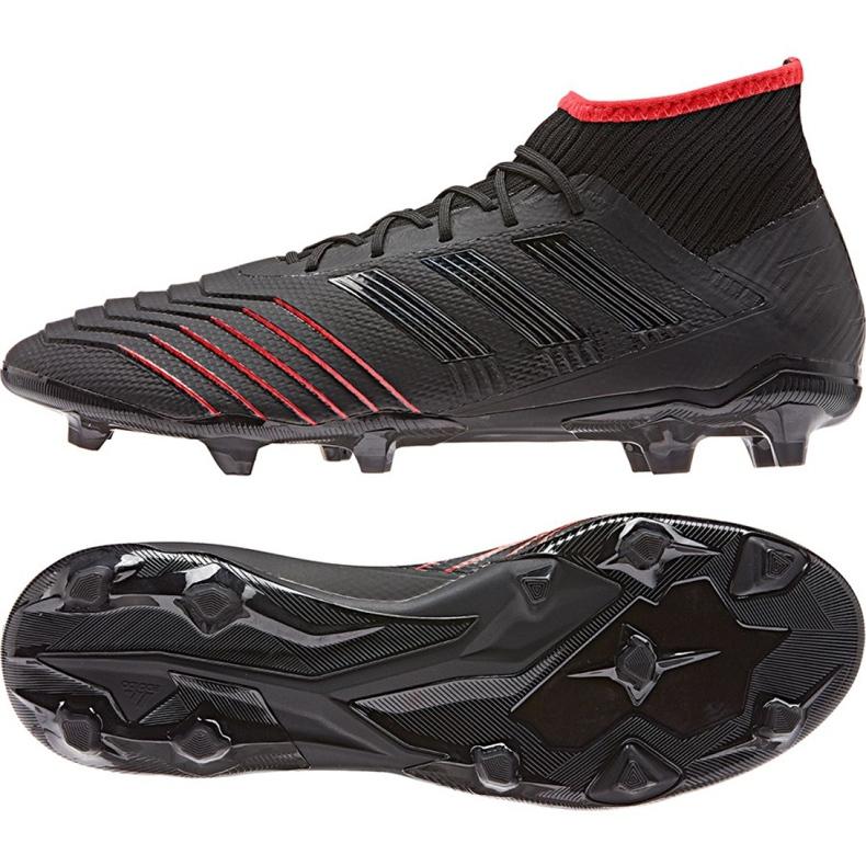 Football boots adidas Predator 19.2 Fg M D97939 black black