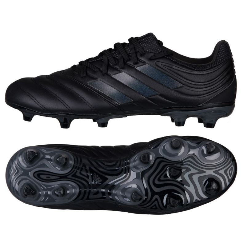 Football boots adidas Copa 19.3 Fg M BC0553 black multicolored