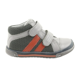 Boote shoes Velcro boots Ren But 3225 gray / orange
