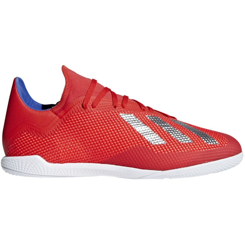 Indoor shoes adidas X 18.3 In M BB9392 red multicolored