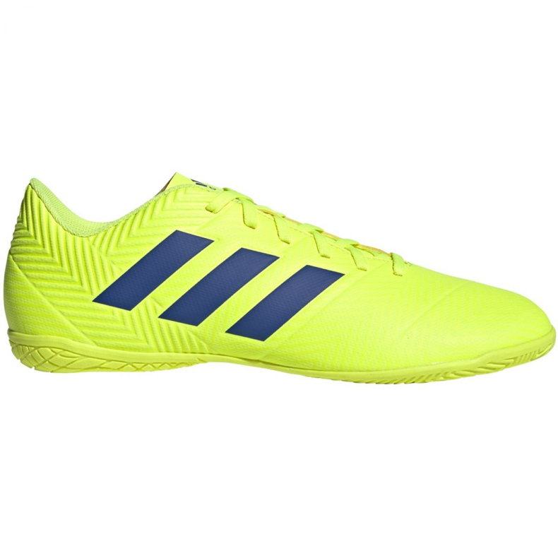 Indoor shoes adidas Nemeziz 18.4 In M BB9469 yellow yellow