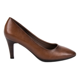 Vinceza Classic Brown Pumps
