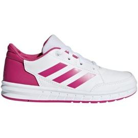 Adidas AltaSport K Jr D96870 shoes white