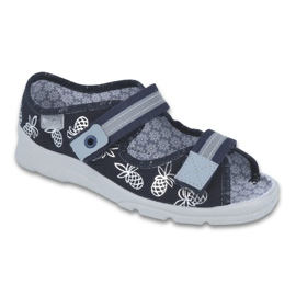 Navy Befado children's footwear 969Y138