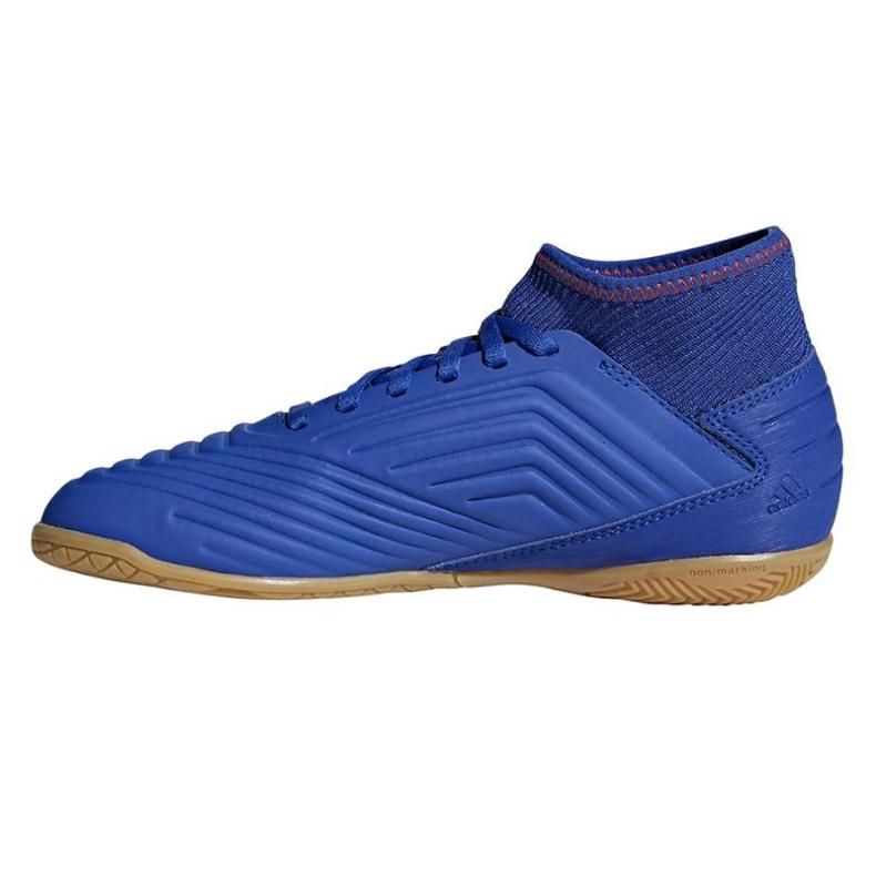 Indoor shoes adidas Predator 19.3 In Jr CM8543 blue multicolored