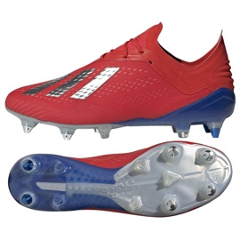 Football shoes adidas X 18.1 Sg M BB9359 red red