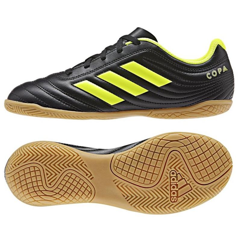 Indoor shoes adidas Copa 19.4 In Jr D98095 black black