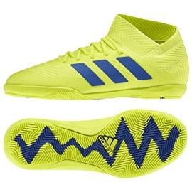 Indoor shoes adidas Nemeziz 18.3 In Jr CM8512 yellow yellow