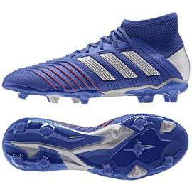 Football boots adidas Predator 19.1 Fg Jr CM8530 blue blue