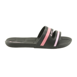 Women's pool slippers Rider 82504 black
