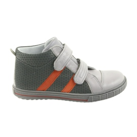 Ren But Boote shoes children's Velcro boots Ren 4275 gray / orange