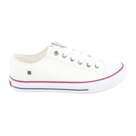 Big Star Sneakers tied white DD174271 red
