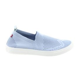 Blue Big Star slipony slip-on sneakers 274785