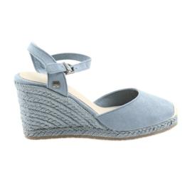 Big Star sandals espadrilles 274A170 blue