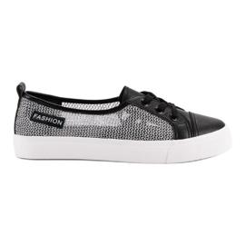 Black MCKEYLOR Mesh Sneakers