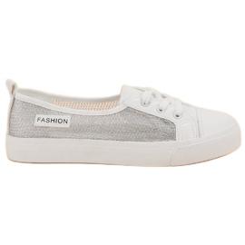 White MCKEYLOR Mesh Sneakers