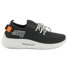 Mckeylor Slip Sports Shoes black