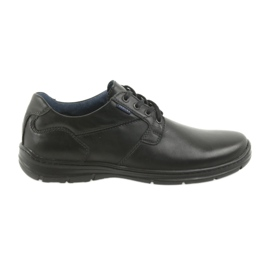 Badura low boots men's comfort 3509 black