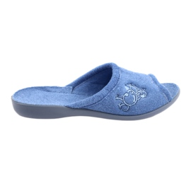 Befado women's shoes pu 256D003 blue