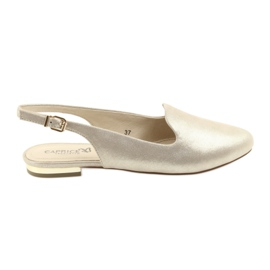 Yellow Caprice lordsy women's golden shoes 29400