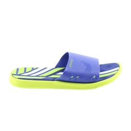 Men's slippers for the Atletico lime pool