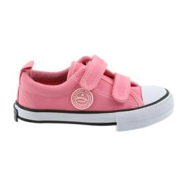 American pink sneakers American Club LH50