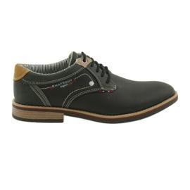 American Club black Boots men's shoes Rhapsody RH 08/19