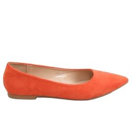 Orange women's ballerina 3157 Orange