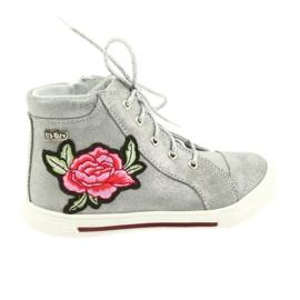 Shoes shoe girls silver Ren But 3237 grey