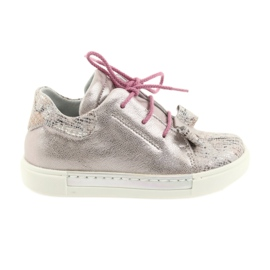 Ren But Rhine leather shoes 3303 pearl pink